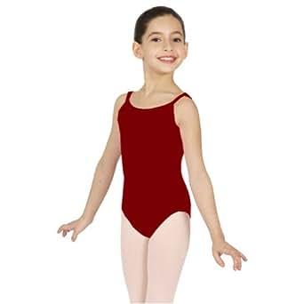 Capezio petites filles Caraco Justaucorps de dans'et gymnastique Bordeaux Taille 42
