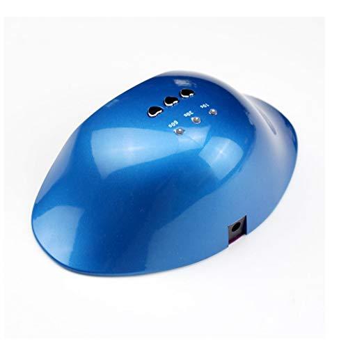 el-Fototherapie-Maschinen-Nagellack-Trockner-Nagel-Ofen-Maniküre-Licht-intelligente Maniküre-Maschine (Farbe : Blau) ()