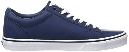 Vans Herren Dawson Low-top Blau (abito In Pelle Blues / Bianco)