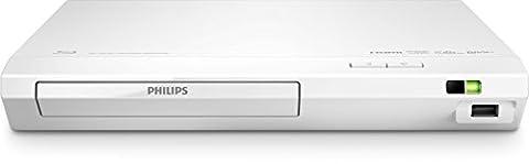Philips BDP2510W/12 Blu-ray Disc/DVD-Player (Full HD, Upscaler 1080p, DivX Plus HD, USB2.0) weiß (Blue Ray Player Silber)