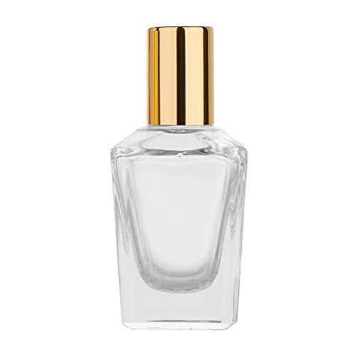 MA87 Ätherische Öle Roller Ball Glas Parfüm Flaschen Reisenden nachfüllbarer Behälter (K) - Klar Vorhang Dusche Liner
