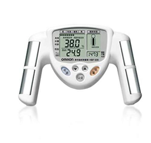 GTFHUH Hochwertiges BMI männliches und weibliches allgemeines Körperfettmessgerät Körperfettinstrument, Handfetttest-Fettrate LCD