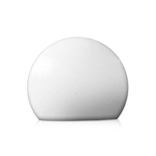 Light Prestige GAJA Lampa ogrodowa 500/L, acrylique, E27, 60 W, Blanc, 50 x 50 x 40 cm