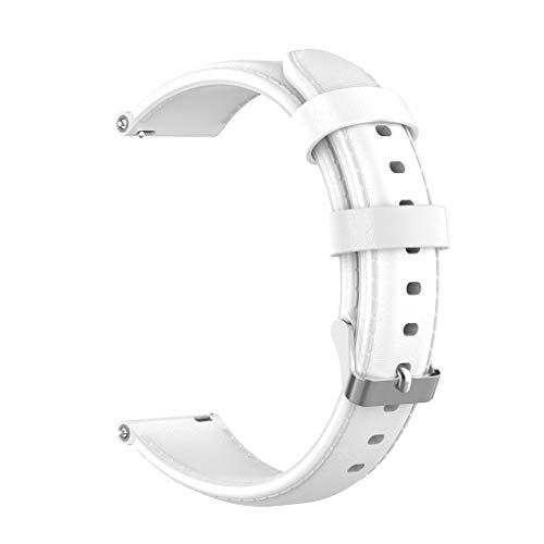 Ersatz Armband, Leder Ersatz Uhrenarmband Buckle Wristband Strap für Weekender/Expedition (Leder Timex)