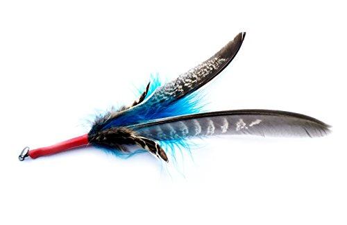 Feather Spinning (Ersatzfeder) für PurrSuit / Flying Frenzy / Da Bird von Frenzy Cat Toys