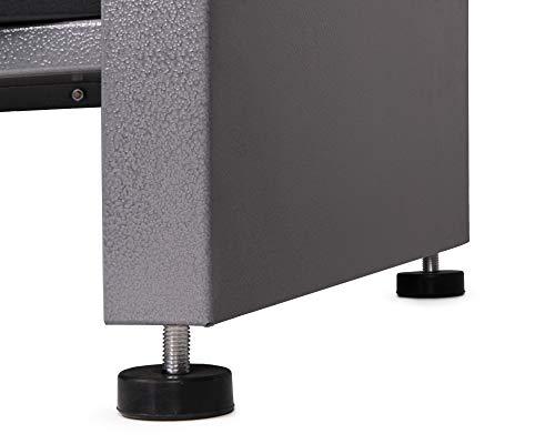 Ondis24 Montagewerkbank Werkstatteinrichtung Werkstatt Werkbank Werktisch mit 2 Schubläden kugelgelagerte Rollenführung mit 2 abschließbaren Türen - 6