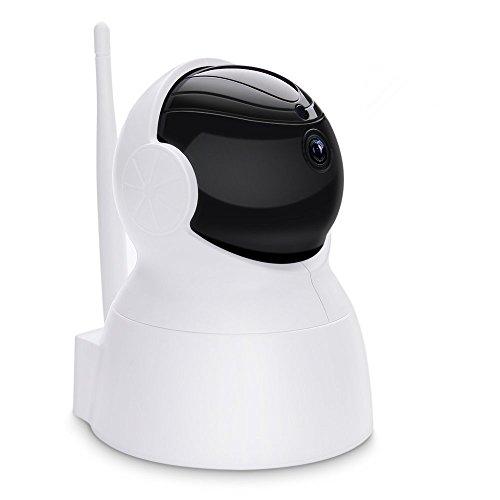Überwaschungskamera, Virtoba Sicherheitskamera IP Kamera 1080P FHD Wlan Home Baby Monitor PTZ mit Nachtsicht,Bewegungsalarm,Auto-Rotation,2 Wege Audio