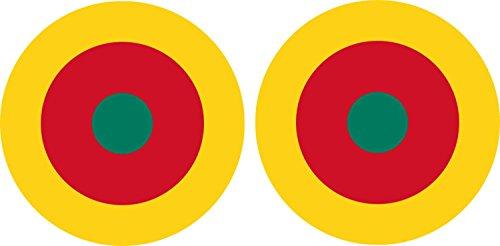 2-x-adesivi-aviazione-militare-air-force-aereo-coccarda-cameroune