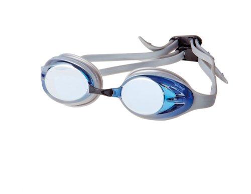 Fashy Schwimmbrille Power Mirror, blau/silber