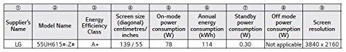 LG 55UH6159 139 cm (55 Zoll) 4k Fernseher - 3
