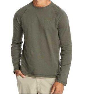 Craghoppers Herren T-shirt Ruston Long Sleeve, Dk Khaki, XXL, CMT778 (Khaki Shirt Golf)