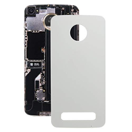 WUXUN-PHONE ACCESSORY Repair Parts Compatibile con la Cover Posteriore della Batteria del Motorola Moto Z Play XT1635 (Colore : Bianco)