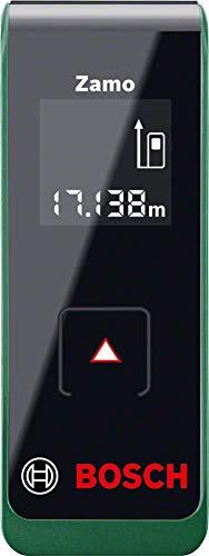 Bosch Zamo - Medidor de distancias digital, 2ª generación, rango de trabajo 0,15-20 m, en caja