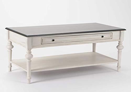 Amadeus Table Basse en Bois de bayur, Collection héritage
