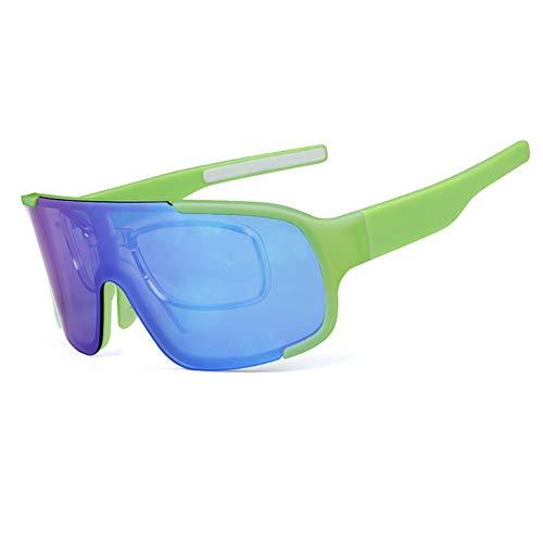 HAOYU Radfahren Brille Outdoor Sports Running Selbstfahrende Mountainbike Winddicht Reitbrille Geeignet für Erwachsene Männer, Frauen,C