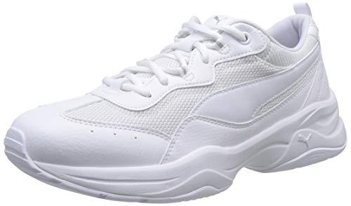 Puma Damen Cilia Sneaker, Weiß (Puma White-Gray Violet-Puma Silver), 40 EU