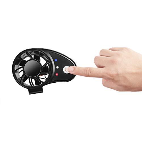 Mypace Fan Mini-Ventilator Mit Taillenlüfter, Außenlüfter, wiederaufladbare Lüfter tragbar, elektrischer Clip-On-Taillenlüfter -