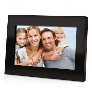 """DIGITAL PHOTO FRAME 7"""" MODERN STYLE COBY ROSSO"""