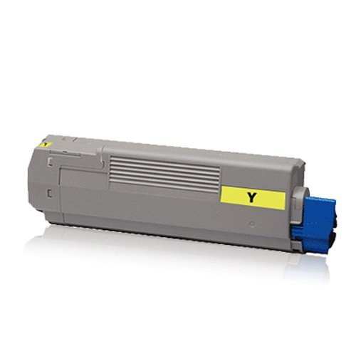kompatible XXL Tonerkartusche Yellow - für OKI C-5650 C5650 N C 5650N C5650 DN C-5650DN C 5750 C5750 N C-5750N C5750 DN C-5750DN - Toner Gelb (Reman Drucken)