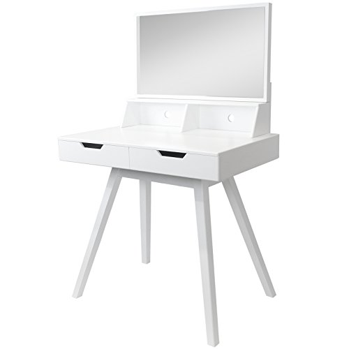 hartleys white modern dressing table mirror search. Black Bedroom Furniture Sets. Home Design Ideas