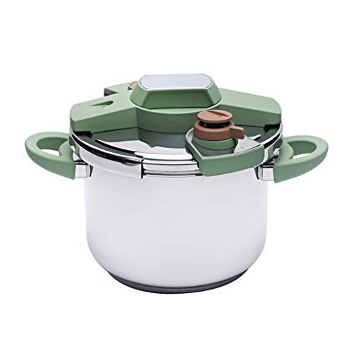 Hogar Menaje de cocina Ollas a presión Cocina de inducción de gran presión de acero inoxidable de un solo botón Cocina de inducción de gran capacidad 6L Hogar y cocina Ollas a presión ( tamaño : 4L )