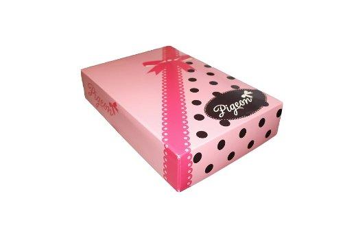 Pigeon Lingerie di alta qualità e design alla moda viscosa di notte, Camicia a maniche lunghe in particolare regalo Box Violett