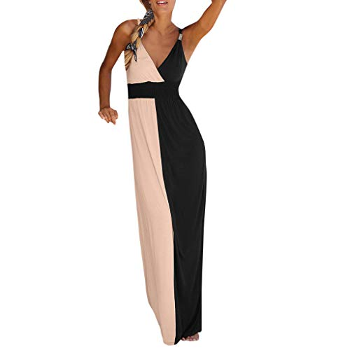 Damen Vintage Revers Colorblock Houndstooth Patchwork Swing Business Kleid Houndstooth Swing