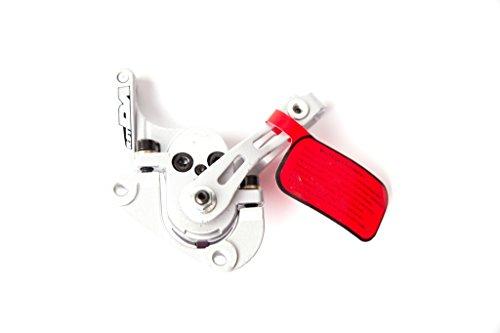 Bremssattel mechanische Scheibenbremse Disc Bremszange RST DX vorn silber
