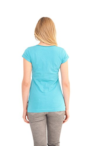 Course - Damen T-Shirt in Türkis - Ariel Türkis
