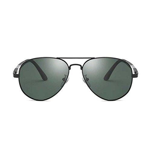 Royalr coolsir metallo di modo telaio uomini pilota da sole ragazzo eyewear luce polarizzata doppio colore occhiali da sole