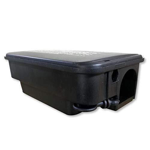 Boîte plastique refermable avec clé - Pour mettre en sécurité du poison contre les rats