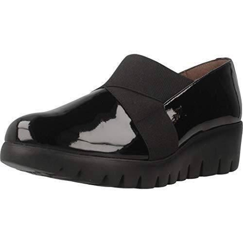 Zapatos Mujer, Color Negro, Marca WONDERS, Modelo