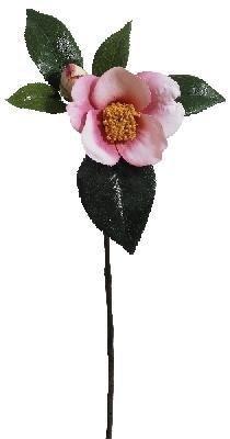 Fiebiger Floristik 4er Pack Kamelie 33cm, Rose,Kunstblume/Kunstpflanze