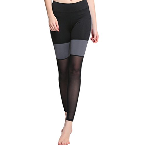 Zhuhaitf Haute qualité Black Women Fitness Sports Yoga Pants Workout Athletic Leggings Trousers Black