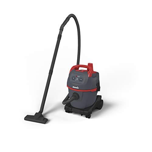 Starmix 16221 Industriebsauger uClean 1420 HK (Nass-und Trockensauger, Ausblasfunktion, Kabellänge 8 Meter, Farbe grau/rot)