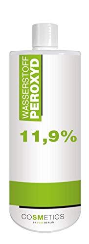 1 Liter 11,9% Wasserstoffperoxid Flüssig - H2O2 - Wasserstoffperoxyd - Blondierung