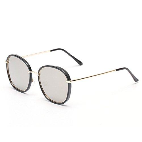 Die Neuen Damen Mode Trend Metall Polarisierte Sonnenbrille Sonnenbrillen,A5