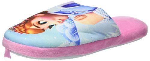 De fonseca roma g473, pantofole aperte sul retro bambine e ragazze, rosa, 33/34 eu