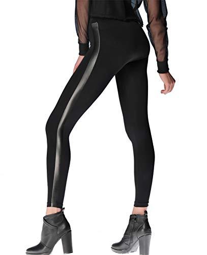 Miss Germany Polina - Leggings Microfibra Mujer Rayas