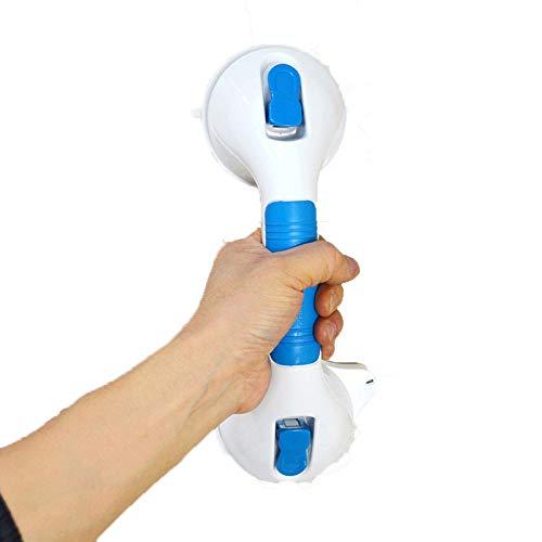 GHDTGS Vakuum Stange Badewannen Dusche WC Griff Aufstehhilfe Badewannengriff Haltestange OHNE Bohren Schrauben,A-30X12CM -