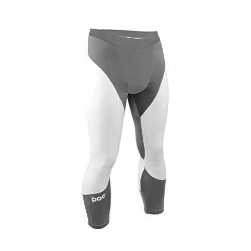 POC Layer Cut Suit Bottom Skiunterhose schnittfest, Größe:XL, Farbe:Steel Grey/Hydrogene White