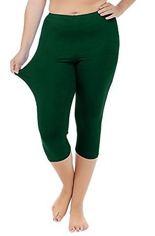 Funray - Legging - Femme vert vert foncé XL
