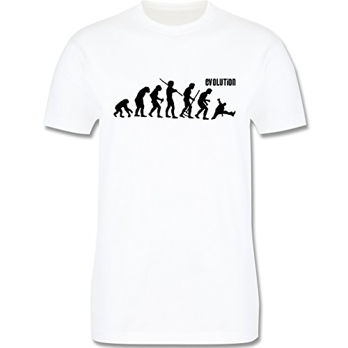 Evolution - Breakdance Evolution - Herren Premium T-Shirt Weiß
