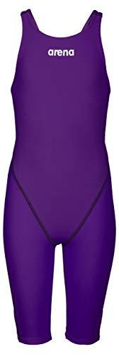 arena Damen Powerskin St 2.0 - Open Back Badeanzug, violett, 34
