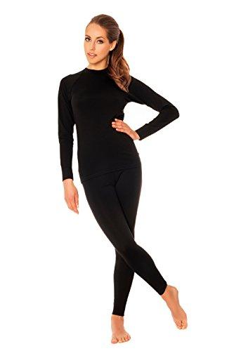 nexir-sous-vetement-de-ski-set-legging-sous-vetement-thermique-fonction-et-t-shirt-a-manches-longues