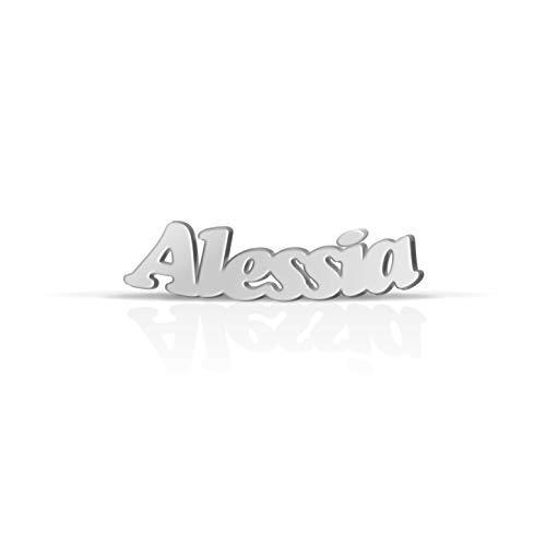 Orecchino con nome Alessia