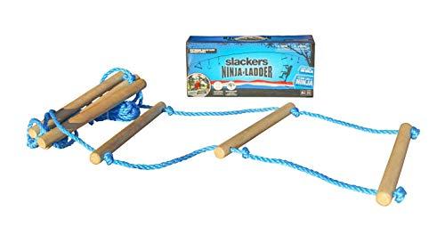 SLACKERS zusätzliches Tool Ninja Line Strickleiter, Natur/Rot, One Size