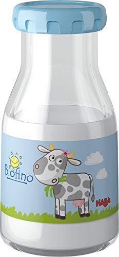 HABA 300117 - Milch | Ideales Zubehör für Kaufladen und Kinderküche | Kleinkindspielzeug ab 3 Jahren | Ideal für Rollenspiele