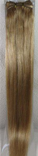 50,8 cm Blond Doré (# 16) trames de cheveux vierges brésiliens Remy 100% cheveux humains vierges brut –