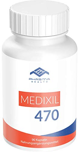Medixil 470 | Abnehmen | Diät | Fatburner | Hochdosiert | für Männer und Frauen | 90 Kapseln